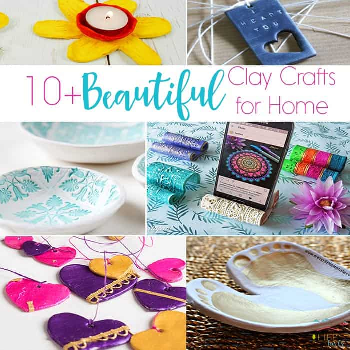 10+ Easy Clay Crafts for Your Home