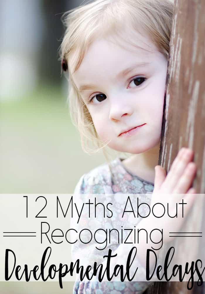 There are so many myths around developmental delays. From the way a child should look to the way they should act, these 12 myths about recognizing developmental delays need to end.