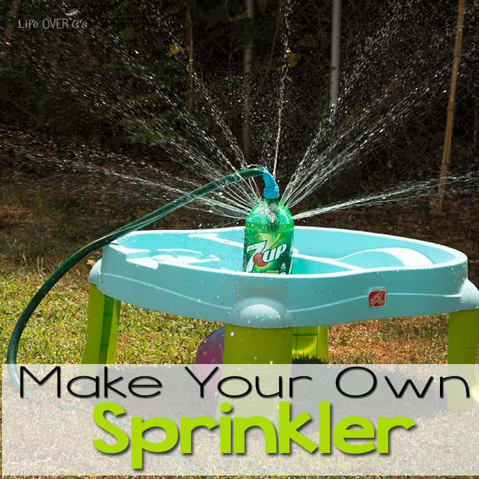 DIY Sprinkler for Outdoor Fun