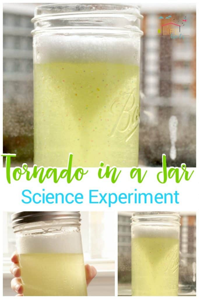 Tornado in a Jar: Simple Science Experiment for Kids