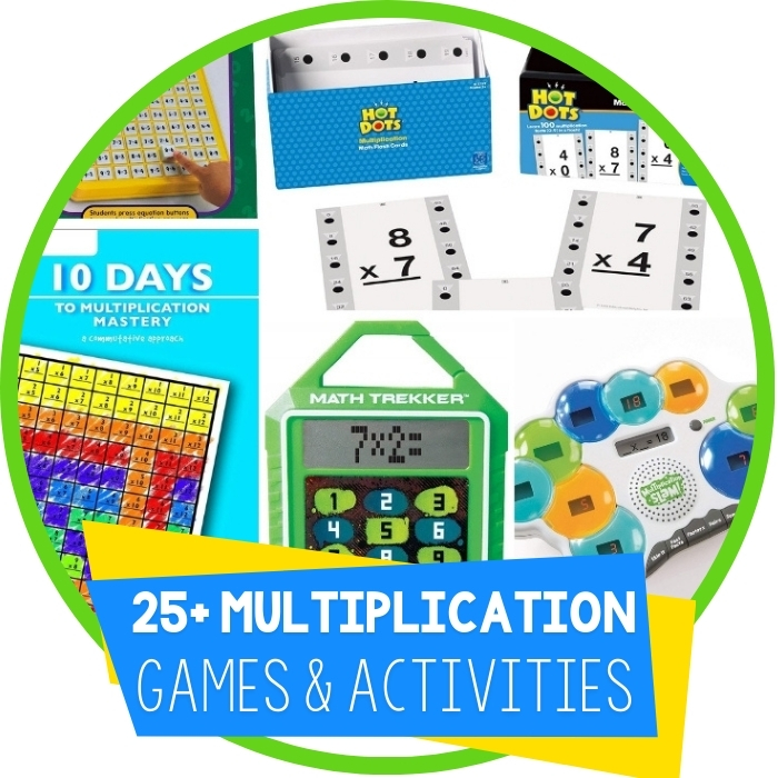 25+ Multiplication Games and Activities for Kids