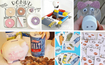 Learn about money with this hands-on money unit study! No matter what skill level, you will find fun activities for learning about money! Science, math, literacy, art and more!!