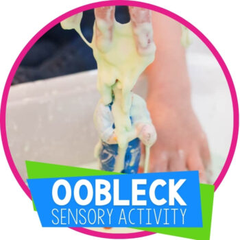 Oobleck Sensory Activity Featured Image