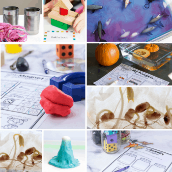 More than fifty Easy STEM activities and printables for kids