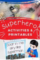 Superhero themed activities for preschool and kindergarten superhero lesson plans and classroom ideas