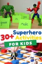 Superhero activities kindergarten and preschool superhero themed activities