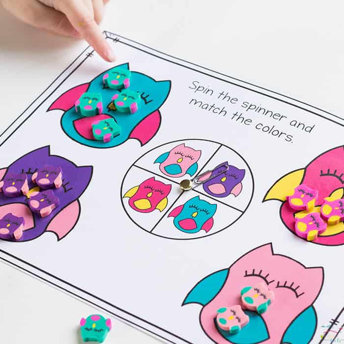 Owl Mini Erasers