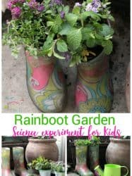 Rainboot Mini Garden for Kids