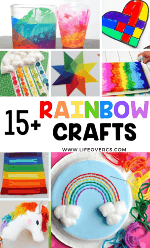 15+ rainbow activities for kids toddler zipper toys for fine motor skills, rainbow sewing project for kids, unicorn craft for kids.