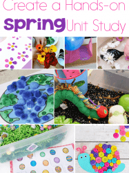 75+Ideas For A Super Fun Spring Unit Study