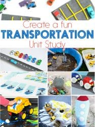 Super Fun Ideas For A Transportation Unit Study