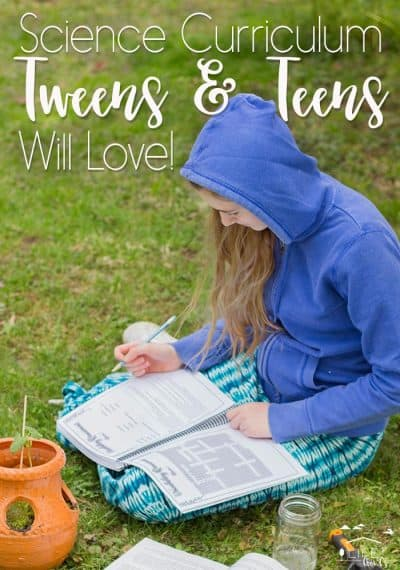 Our Favorite Science Curriculum for Tweens & Teens
