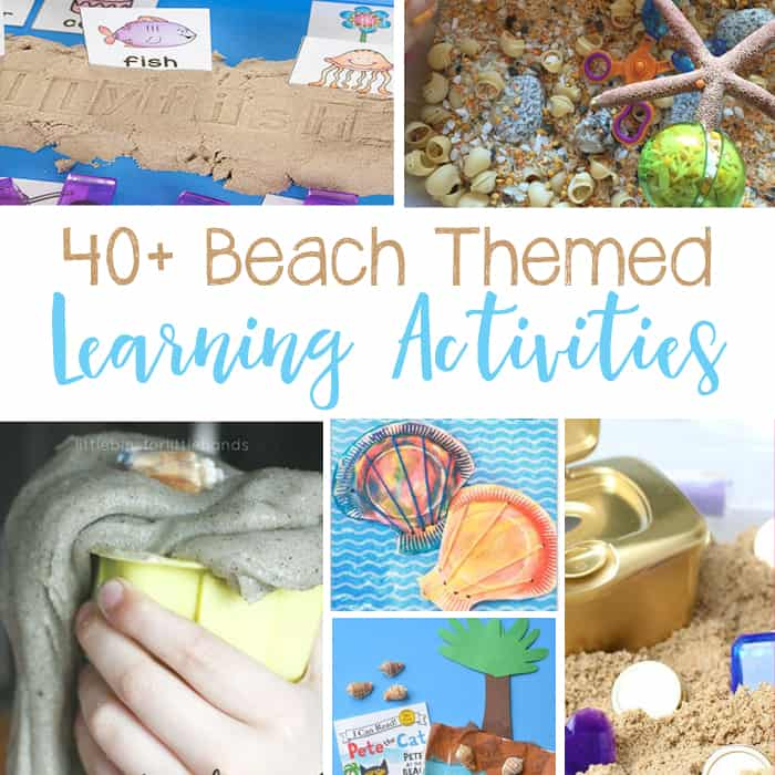 Super Fun Beach Learning Activities For Kids
