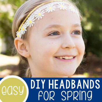 Easy DIY Headbands for Spring Featured Square Image