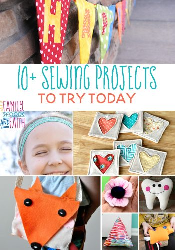 10+ Sewing Projects To Try Today: A fabulous way to make accessories, home decor and gifts!