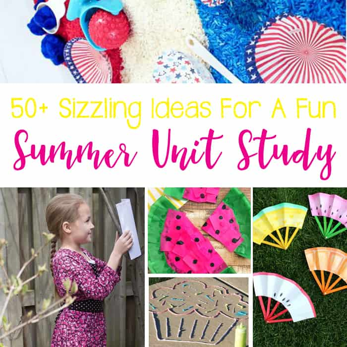 50+ Sizzling Ideas For A Summer Themed Unit Study