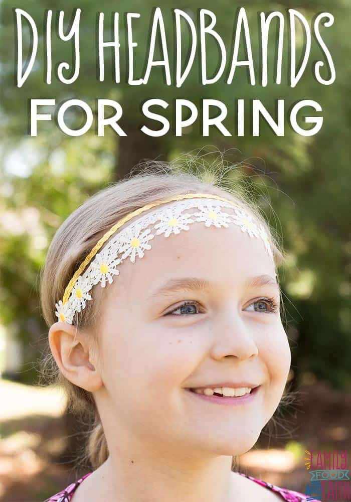 These easy DIY headbands for spring are really quick to put together and are super easy to customize.