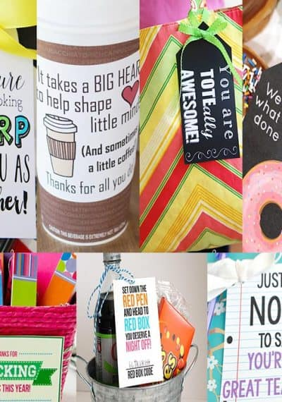Your child's teacher has poured her heart into your child. Say 'thank you' with one of these teacher appreciation gifts that will actually get used.