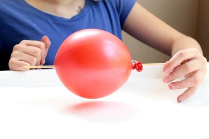 Defy the seeming laws of physics when you poke a stick through a balloon without making it pop! This simple science activity is a fun activity for kids!