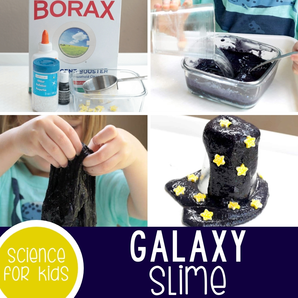 Galaxy Slime: Science Activity for Kids