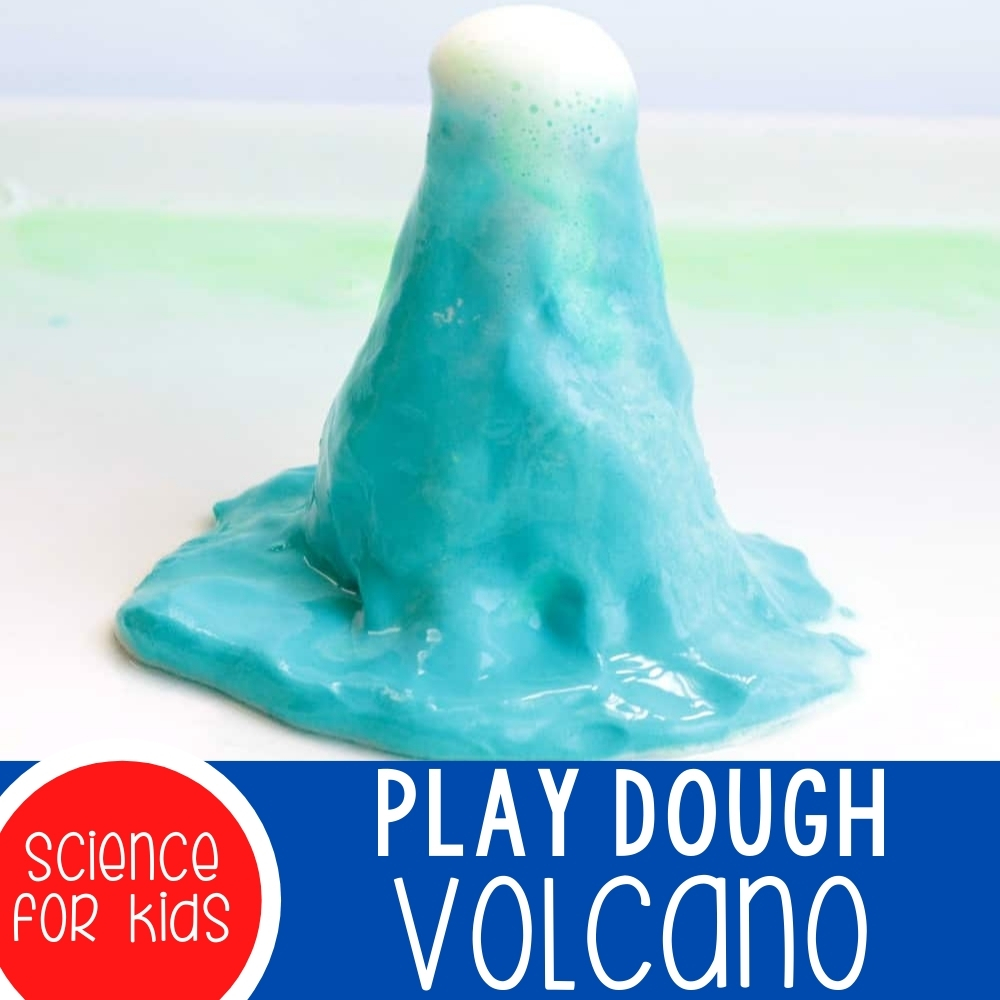 Play Dough Volcano Featured Square Image