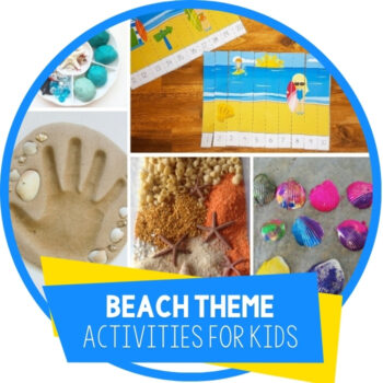 Super Fun Beach Learning Activities For Kids Featured Image
