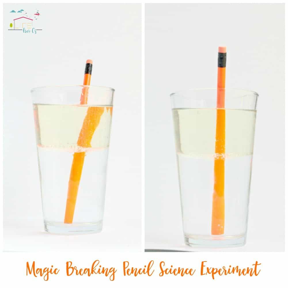 Magic Breaking Pencil: Light Refraction Science for Kids
