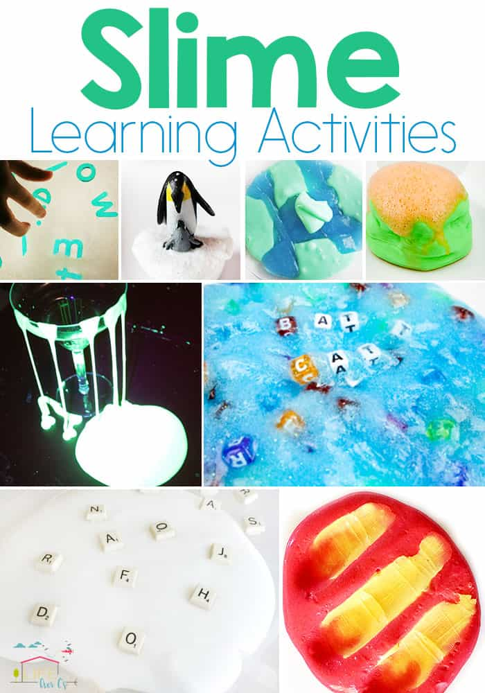 10+ Slime Learning Activities