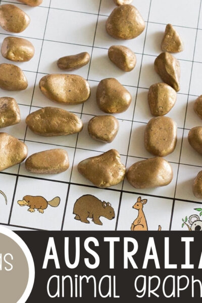 Australian Animals Graphing Printable Featured Square Image