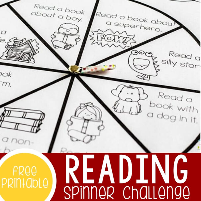 Spinner Reading Challenge Featured Square Image