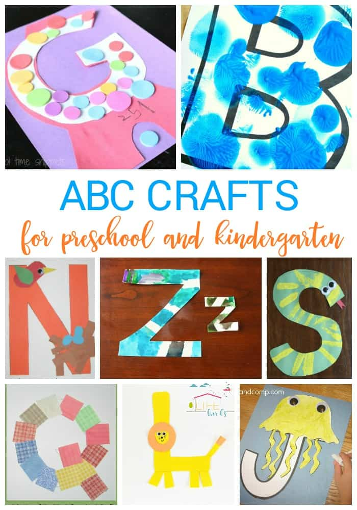 Fun and Easy Alphabet Crafts for Kids
