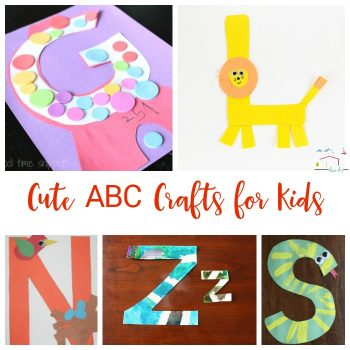 Use these easy alphabet crafts to teach preschool and kindergarten kids about their letters! These fun crafts are perfect for letter of the week activities!