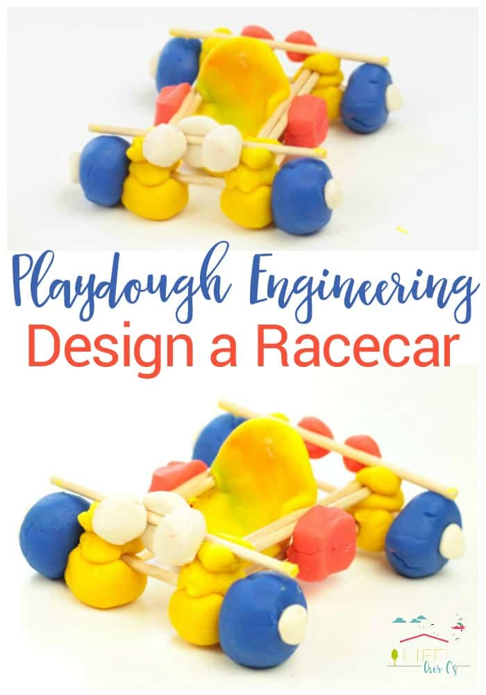 Playdough Engineering: Build a Race Car