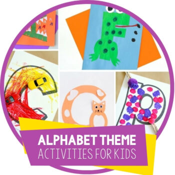 Alphabet Crafts for Kids Featured Image