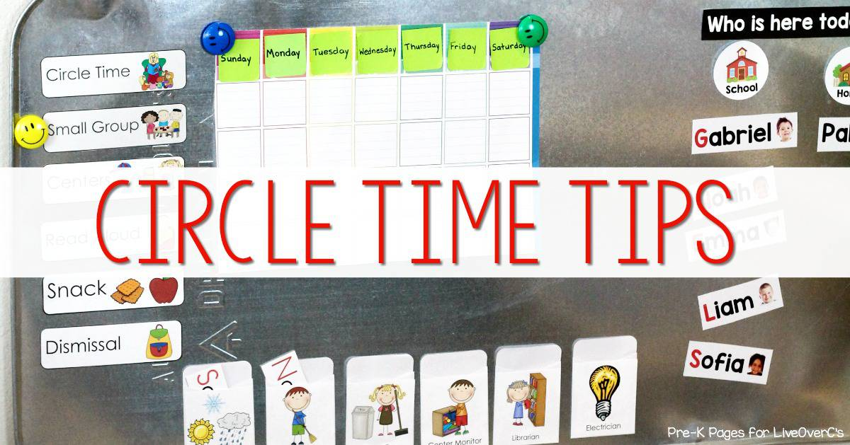 The Best Tips to a Successful Circle Time in Preschool