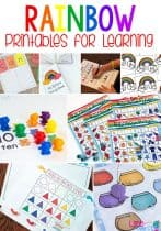 20+ Rainbow Printables for Learning