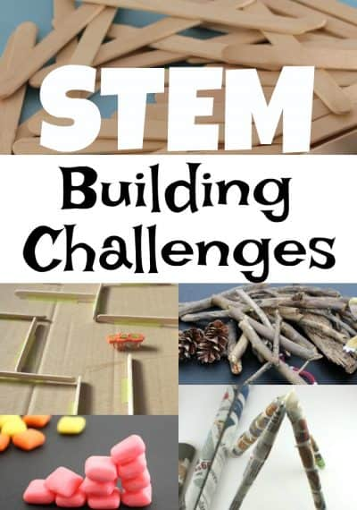 Super Fun STEM Building Challenges that would be great in the classroom!