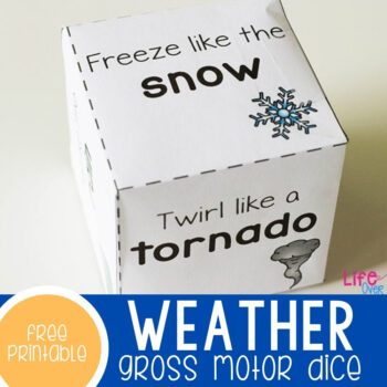 Weather Gross Motor Dice Featured Square Image