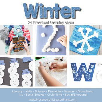Engage your preschoolers with these hands-on winter theme activities! A complete set of preschool lesson plans for your winter theme to make planning easy.
