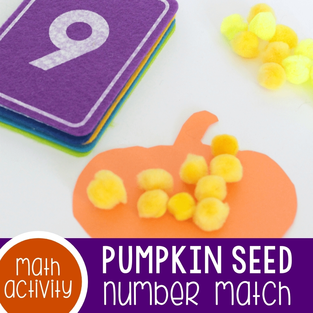 Pumpkin Number Match Featured Square Image