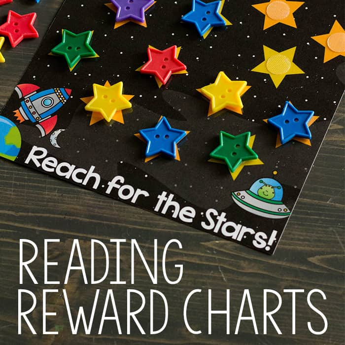 Printable Reading Reward Charts for Kids + Fantastic Scholastic Giveaway