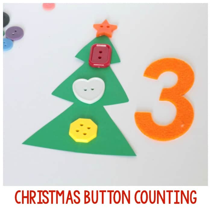 Christmas Tree Button Count