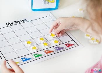 Practice counting to five and learning colors with your preschoolers! They'll love these activities that go perfectly with their favorite Pete the Cat books!