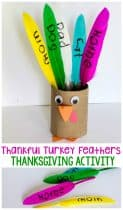 This thankful turkey feather craft is the perfect way to talk about thankfulness with the kids this Thanksgiving. This thankful turkey feather craft is the perfect way to talk about thankfulness with the kids this Thanksgiving.
