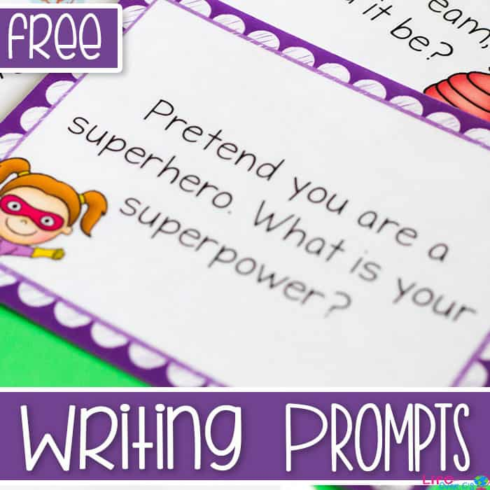 Fun Printable Writing Prompts for Kids