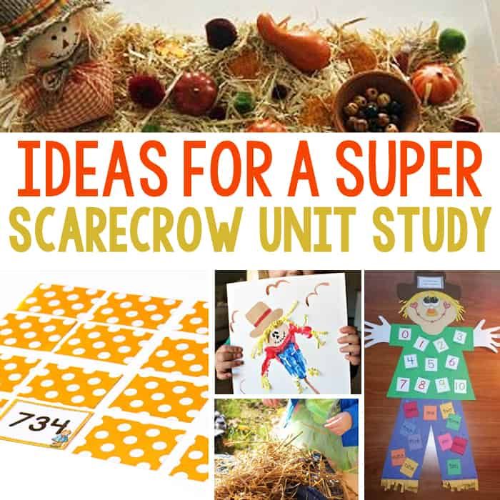 Create A Super Scarecrow Unit Study