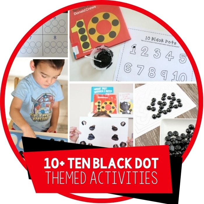 10+ Activities for Ten Black Dots