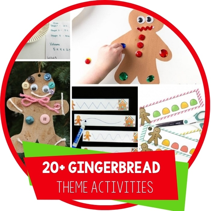 25+ Ideas To Create A Super Fun Gingerbread Theme