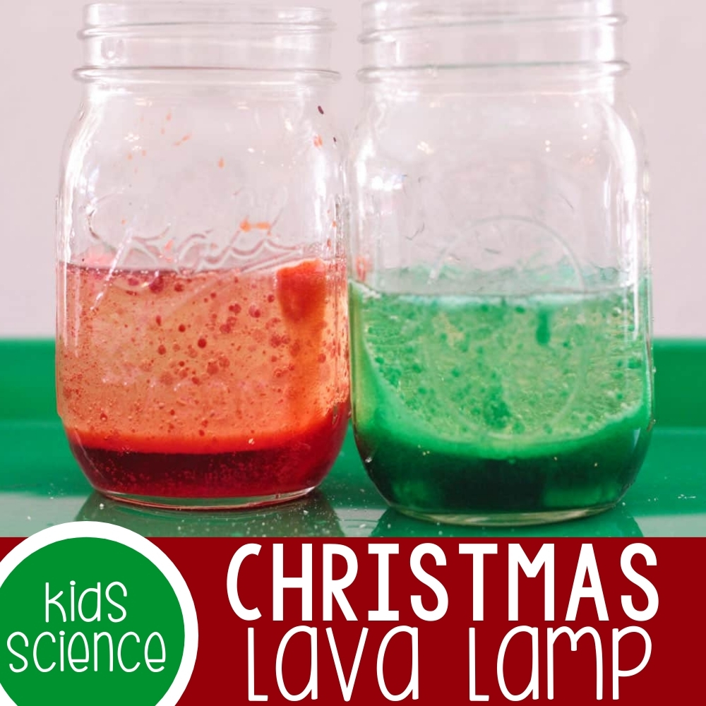 Christmas Lava Lamp Featured Square Image