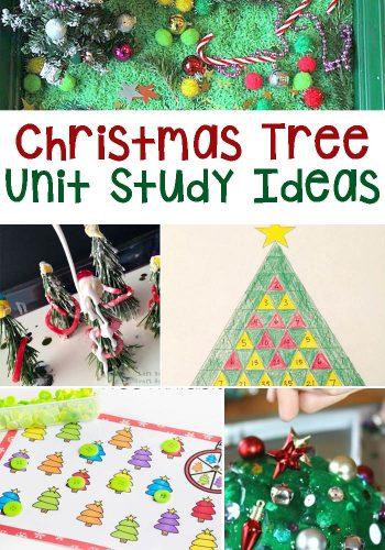 Christmas Tree Unit Study Ideas